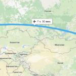 Время полета Москва Благовещенск