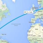 Сколько лететь из Майами в Москву