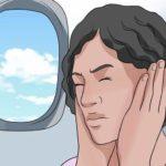 После самолета заложило уши